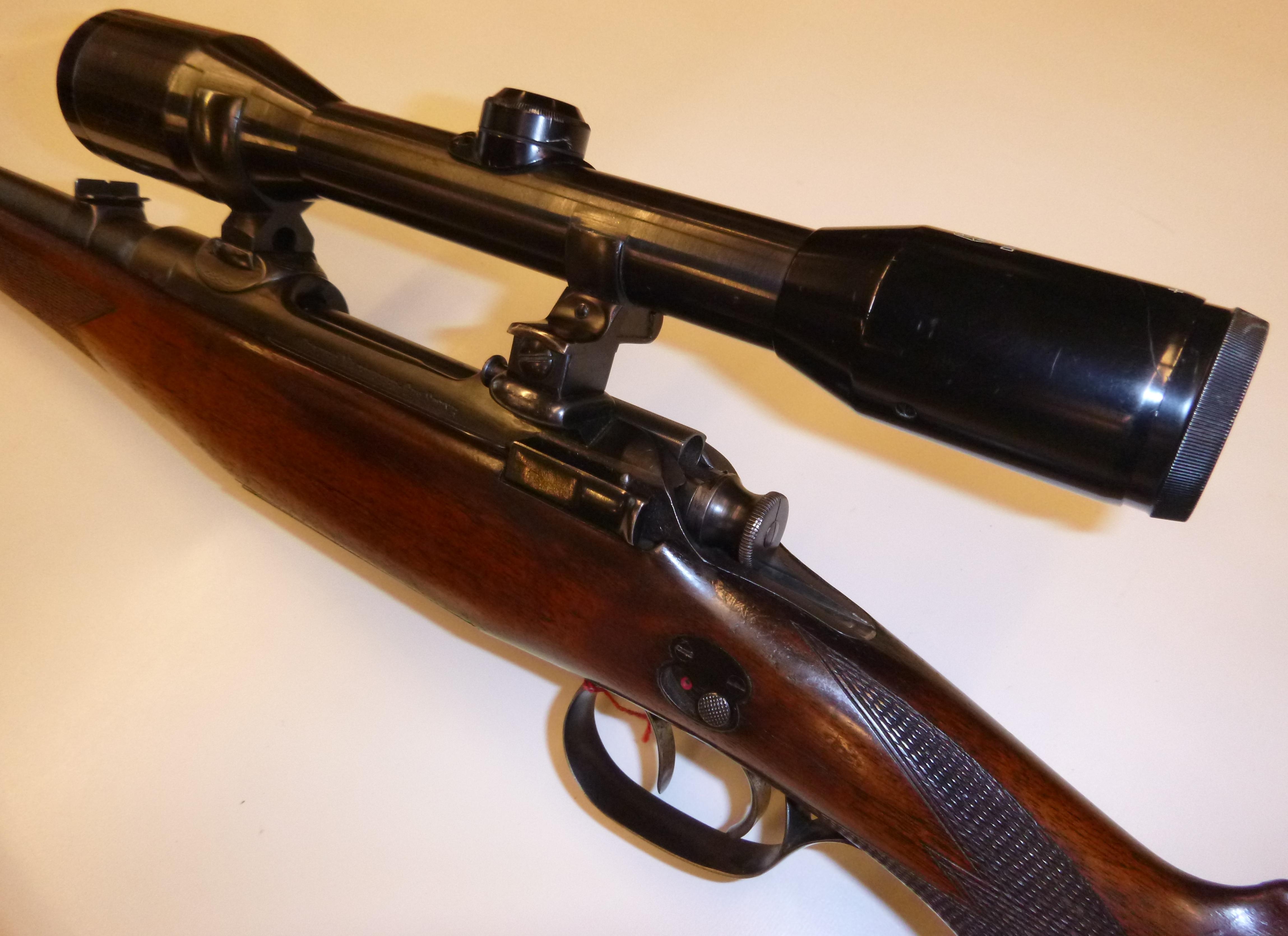 Waffen helfer mannlich schönauer kal. 7x57 ; zeiss